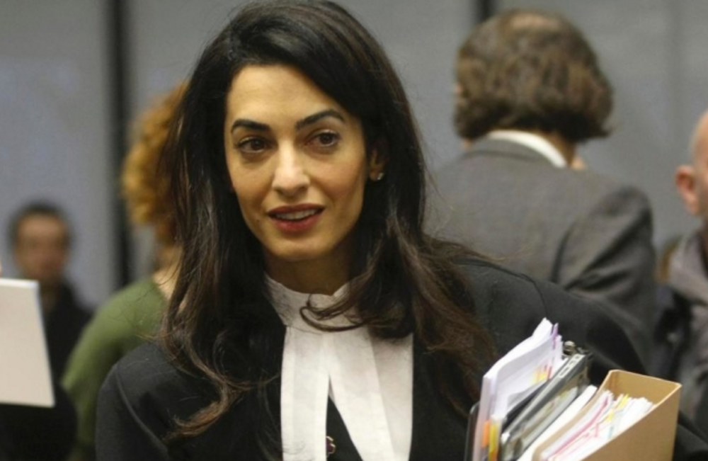 Justice: Barrister,Amal Clooney will represent victims of Yazidi genocide as part of her investigation into crimes against humanity