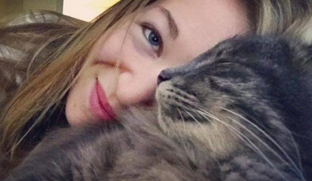 Separated: Marine Coucoulins is devastated that her cat Booba has been re-homed