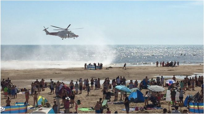 Tragic: 5,000 are calling for lifeguards on Camber Sands beach during summer months