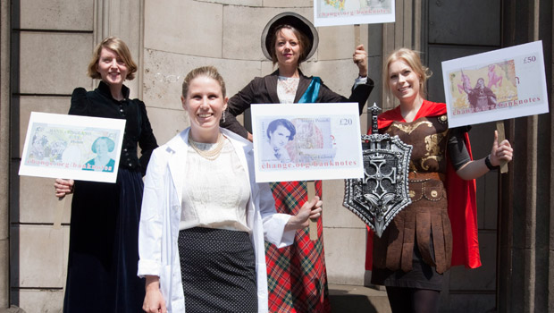 Persuasion: Caroline convinced the Bank of England to keep a woman on banknotes