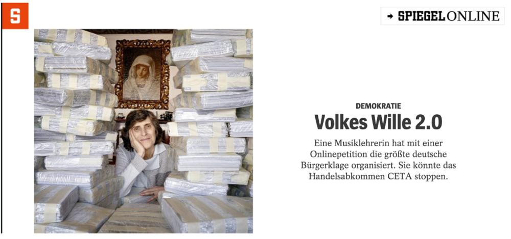Screenshot: Frau Grimmenstein im Portrait im Spiegel:https://magazin.spiegel.de/SP/2016/8/143231594/index.html