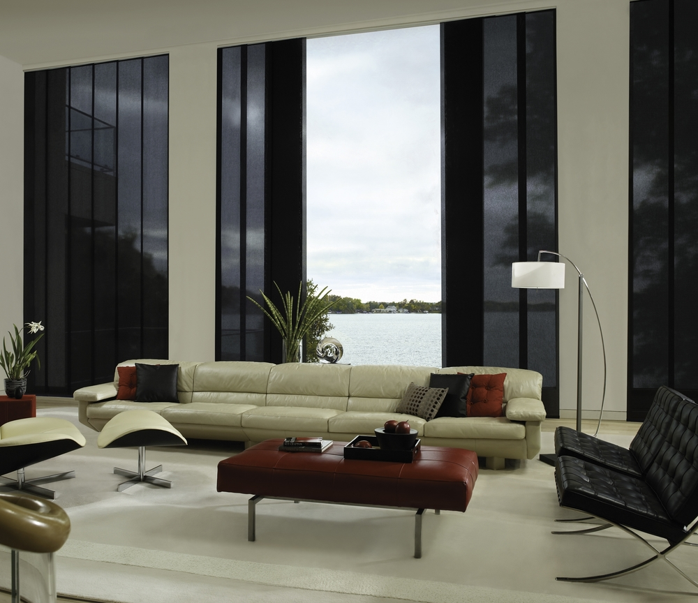 Hunter Douglas   Skyline®   Gliding Window Panels   Learn More