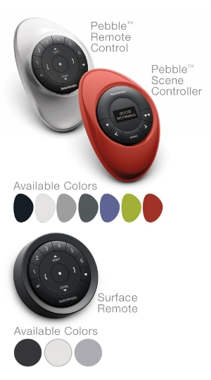 Motorization for Window Treatments Near Carlsbad and Del Mar, California (CA) with Pebble Remote Control