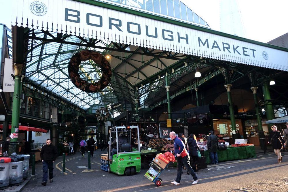 朝のBorough Market