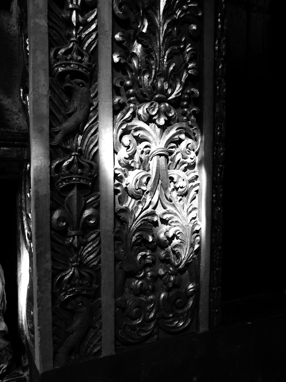 St John´s Co-Cathedral 彫刻のデティール