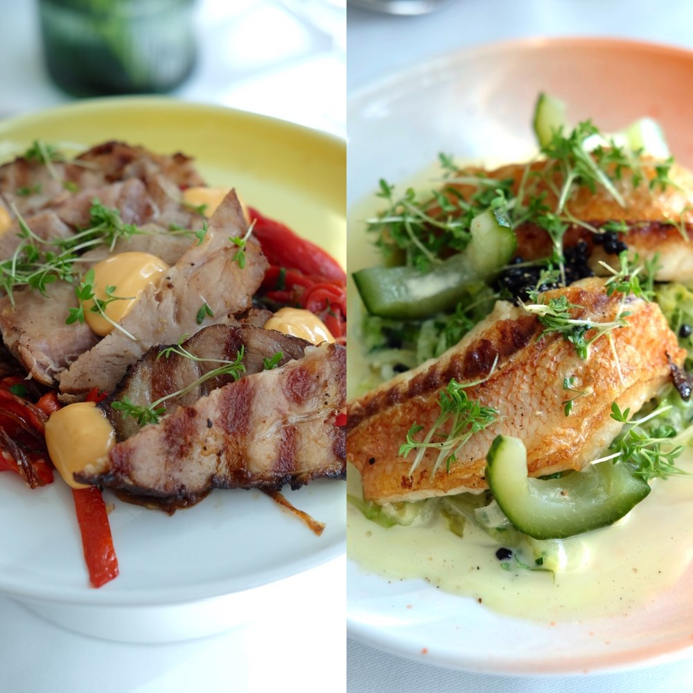Meat & fish warm main dishes -- all Saturday tapas menu are for sharing!