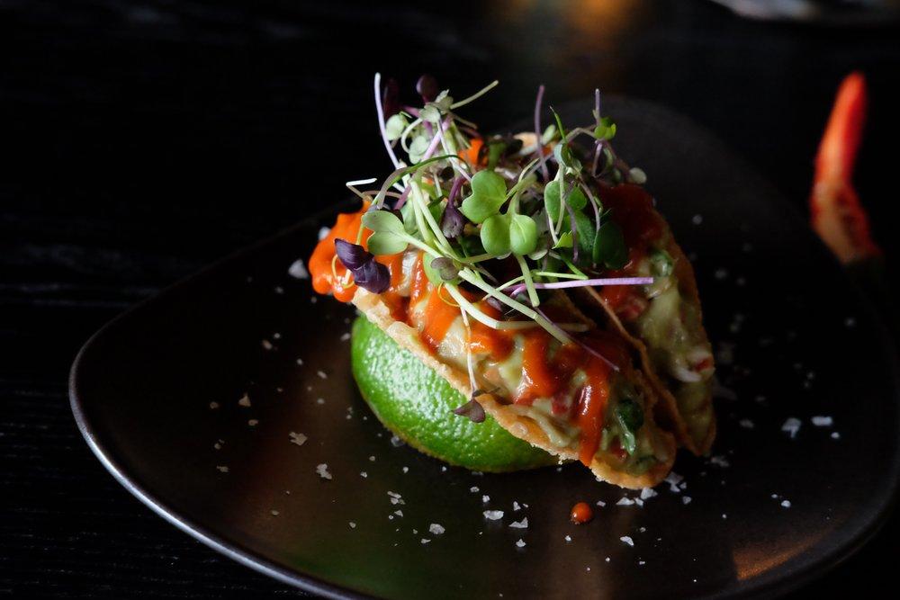 Asia style vegetarian Taquitos