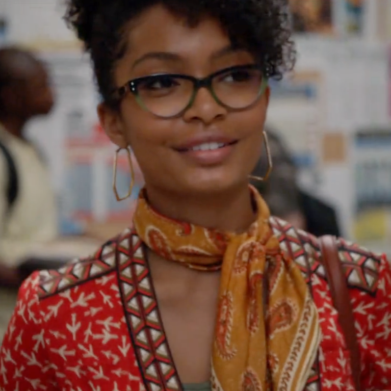Grown*ish & GRO - We are so excited to share the news... Zoey, aka Yara Shahidi is rockin' our Khaleesi frame on her new show!!! Doesn't she look amazing?! See NEWS for more photos and click here to buy them now!