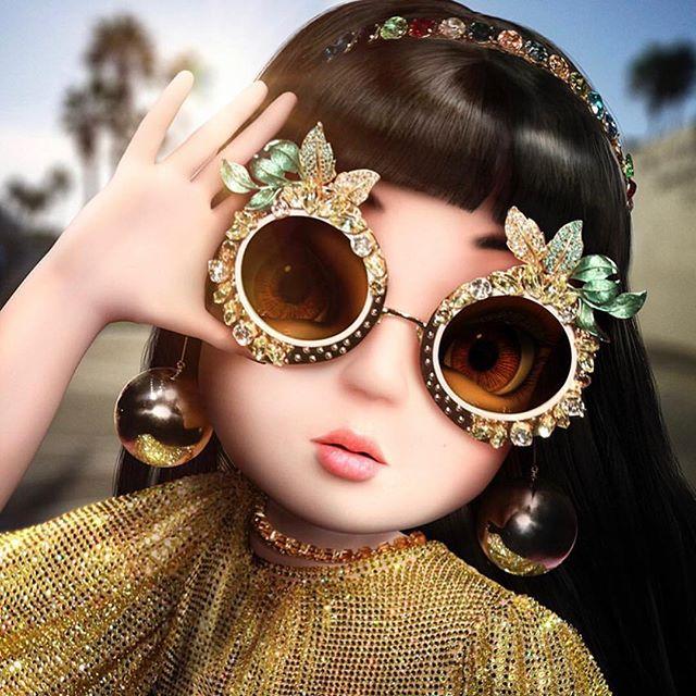 Noonoouri sporting her @amorirstudio .... 😍 . . . . . ___________ #rimsandgoggles #millvalley #tiburon #marin #boutique @strawberryvillagemillvalley #berkeley #frameson4th #getframed #marinstagram #eyeseehd @rimsandgoggles #noonoouri #amorir