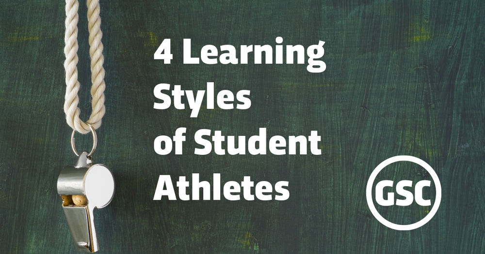 4 learning styles of student athletes