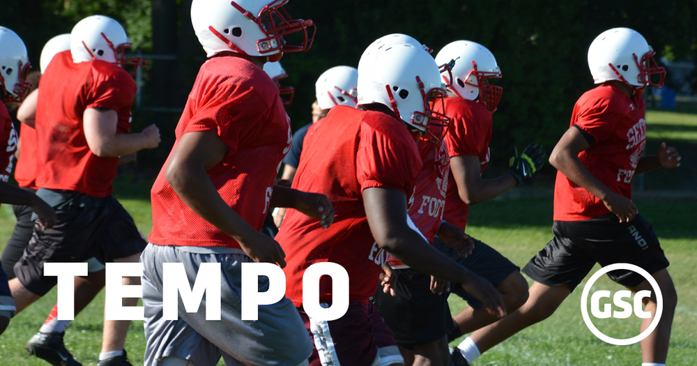 maintaining tempo in football