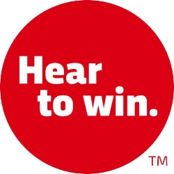 Hear to win. TM