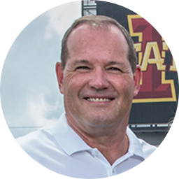 Jim Hofher - Iowa State Quarterback Coach
