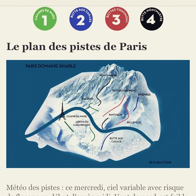 ⛷🎿🏂 t'as pris ton plan? #sportsdhiver  #mylittleparis