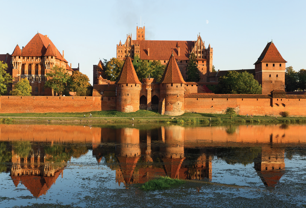 Malbork Castle, sight of the Saturday morning TBE social activity