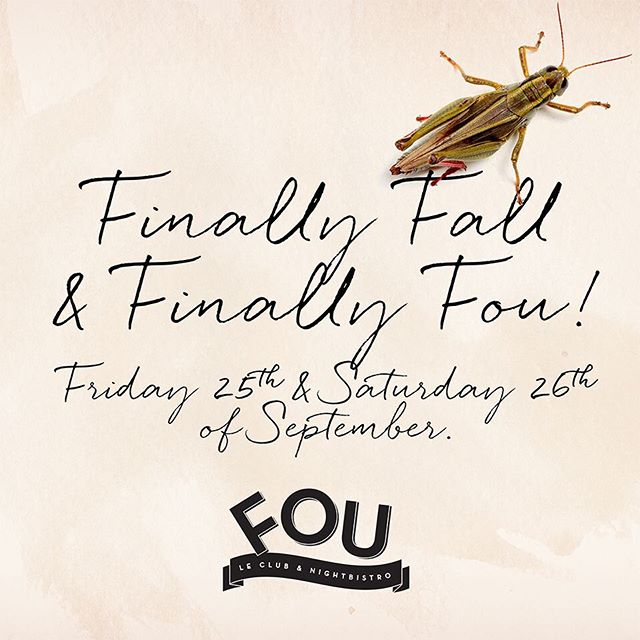 Grand opening for the season! #Fou #Fouclub #Barcosette
