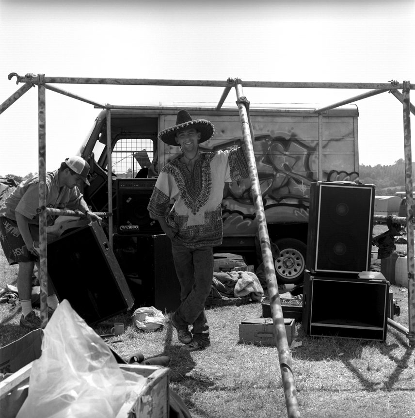 BlimBros Glastonbury Festival1989