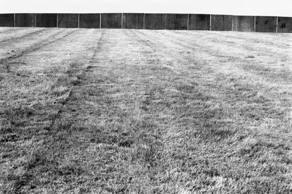The Perimeter Fence Glastonbury 1989.