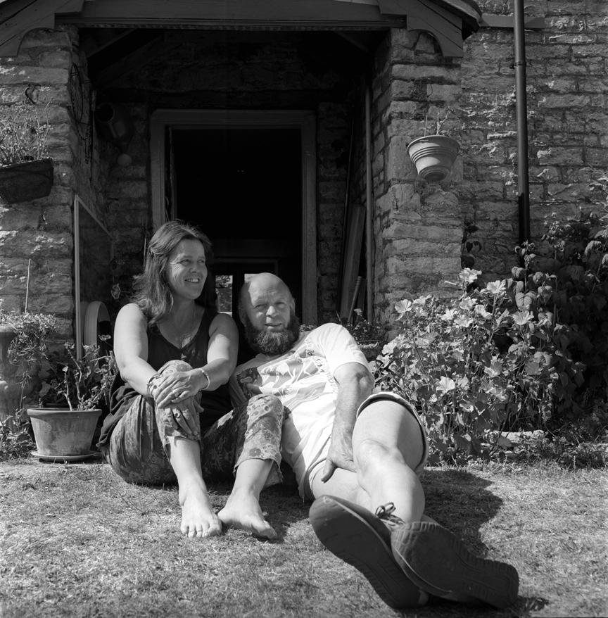 Michael & Jean Eavis Glastonbury Festival 1989