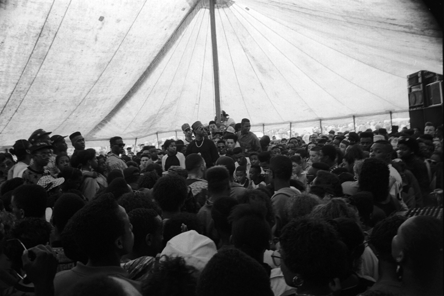 Hip Hop Battle Crowd Mosside Carnival 1989