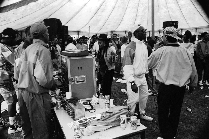 Hip Hop Battle 2 Mosside Carnival Manchester 1989