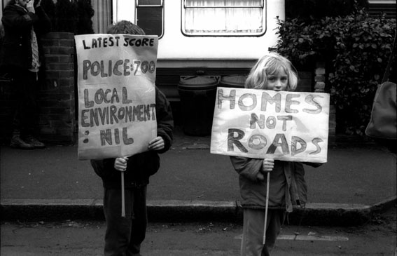 Homes Not Roads Wanstonia 16 Feb 94
