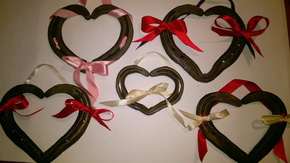 Horseshoe Heart from £15  Contact Us For Prices