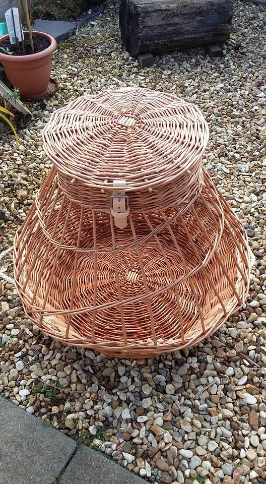Chicken Basket £95 holds 3 large chooks or 5 bantams