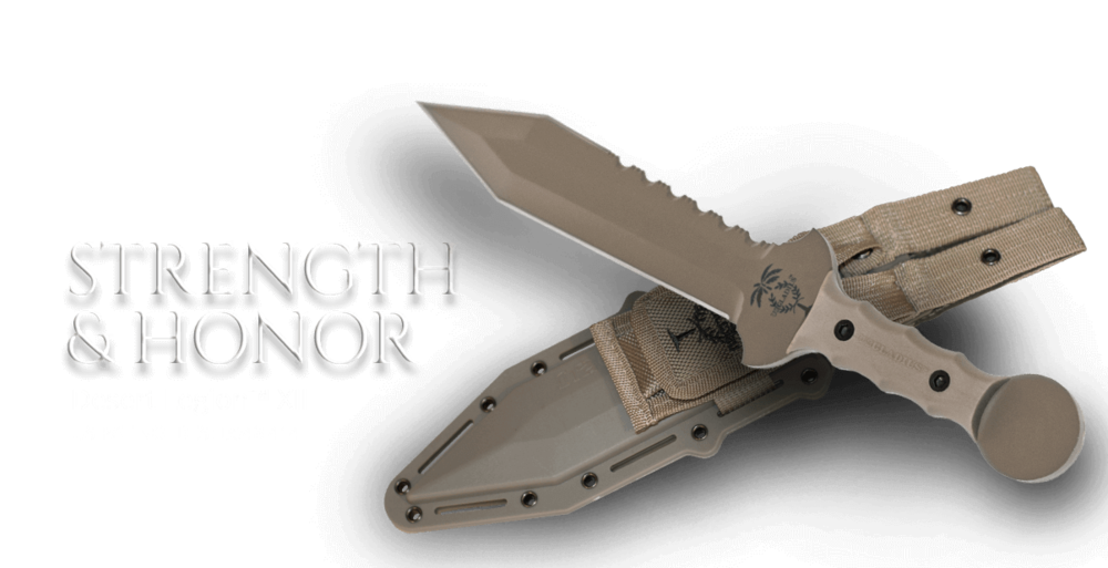 Desert Legion Tactical Gladius Knife