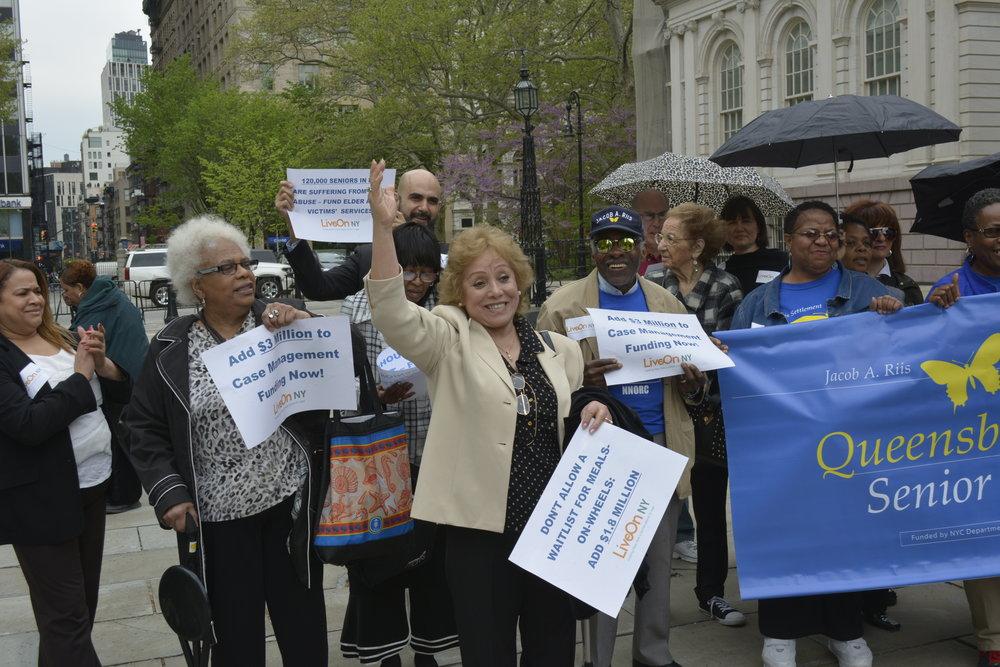 Senior Activators City Hall Advocacy Day.JPG