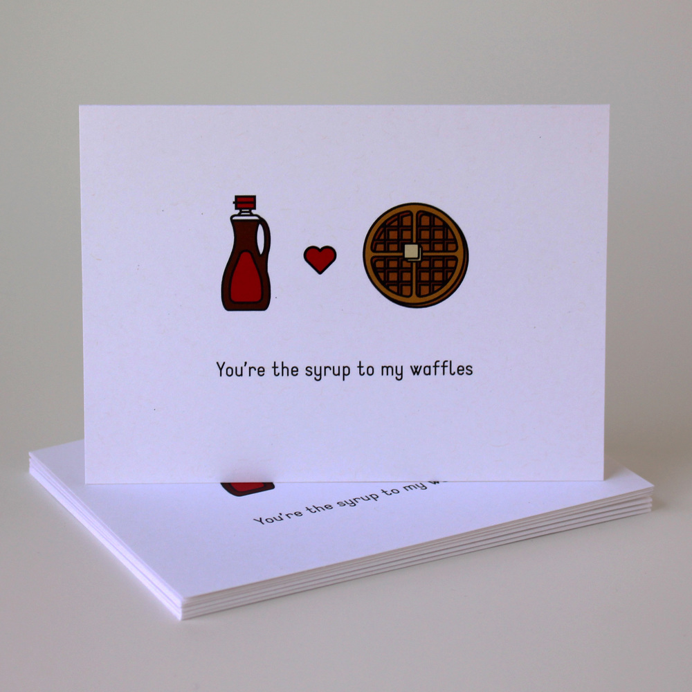 CafeNotes+CompanyWafflesLoveCard