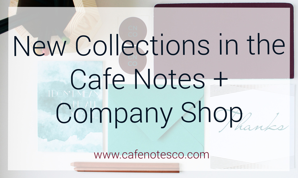 Cafe Notes + Company Greeting Cards