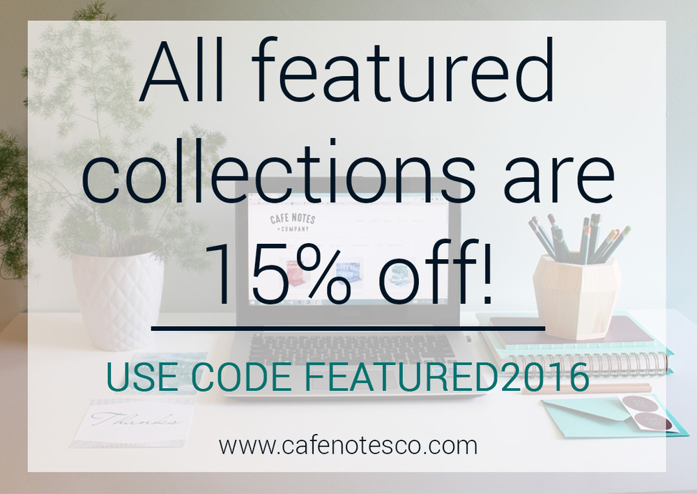 Cafe Notes + Company FEATURED2016 Discount
