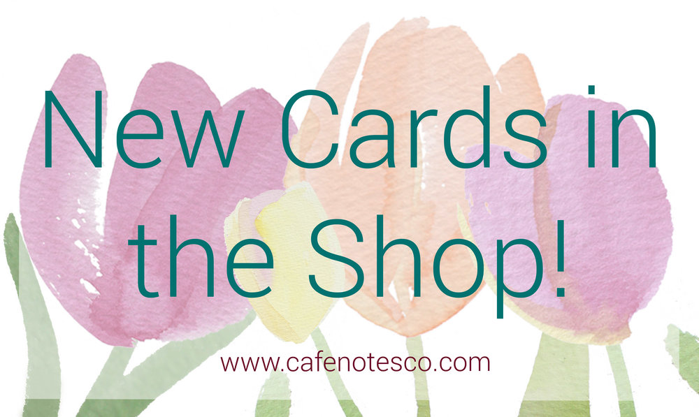 cafe notes and company new greeting cards