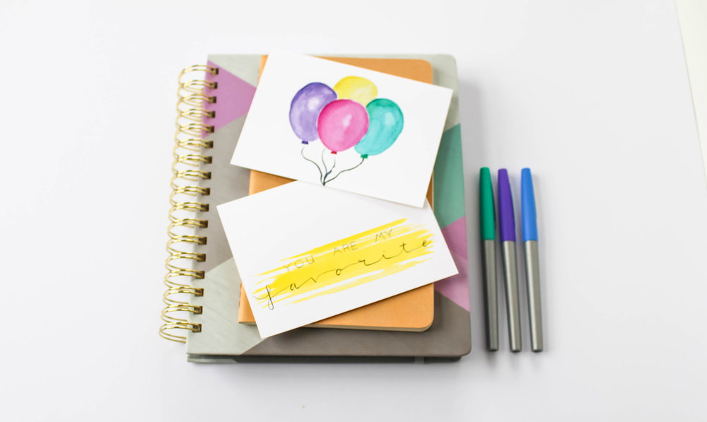 Cafe Notes + Company Planner Balloon Cards + Pens.jpg