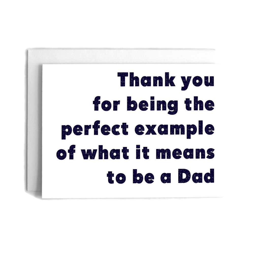 Perfect example fathers day greeting card cafe notes company perfect example fathers day greeting card m4hsunfo