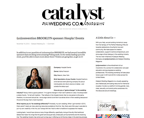 Catalyst Wedding Co.
