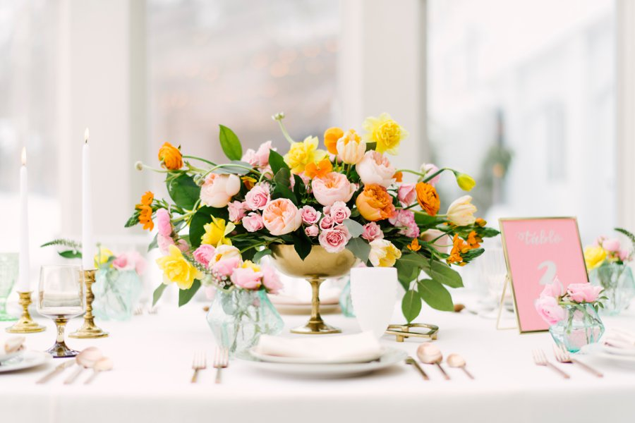 """Metallic Spring"" Wedding - As Featured on Every Last Detail, Be Inspired PR and Aisle Society"