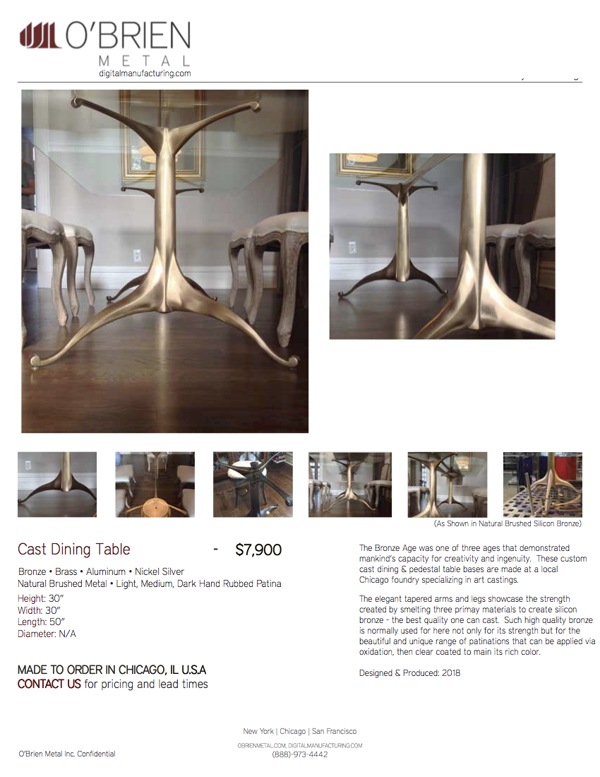 180615_O'Brien Metal Inc._Cast Bronze Dining Table Base_Product Cut Sheet.jpg