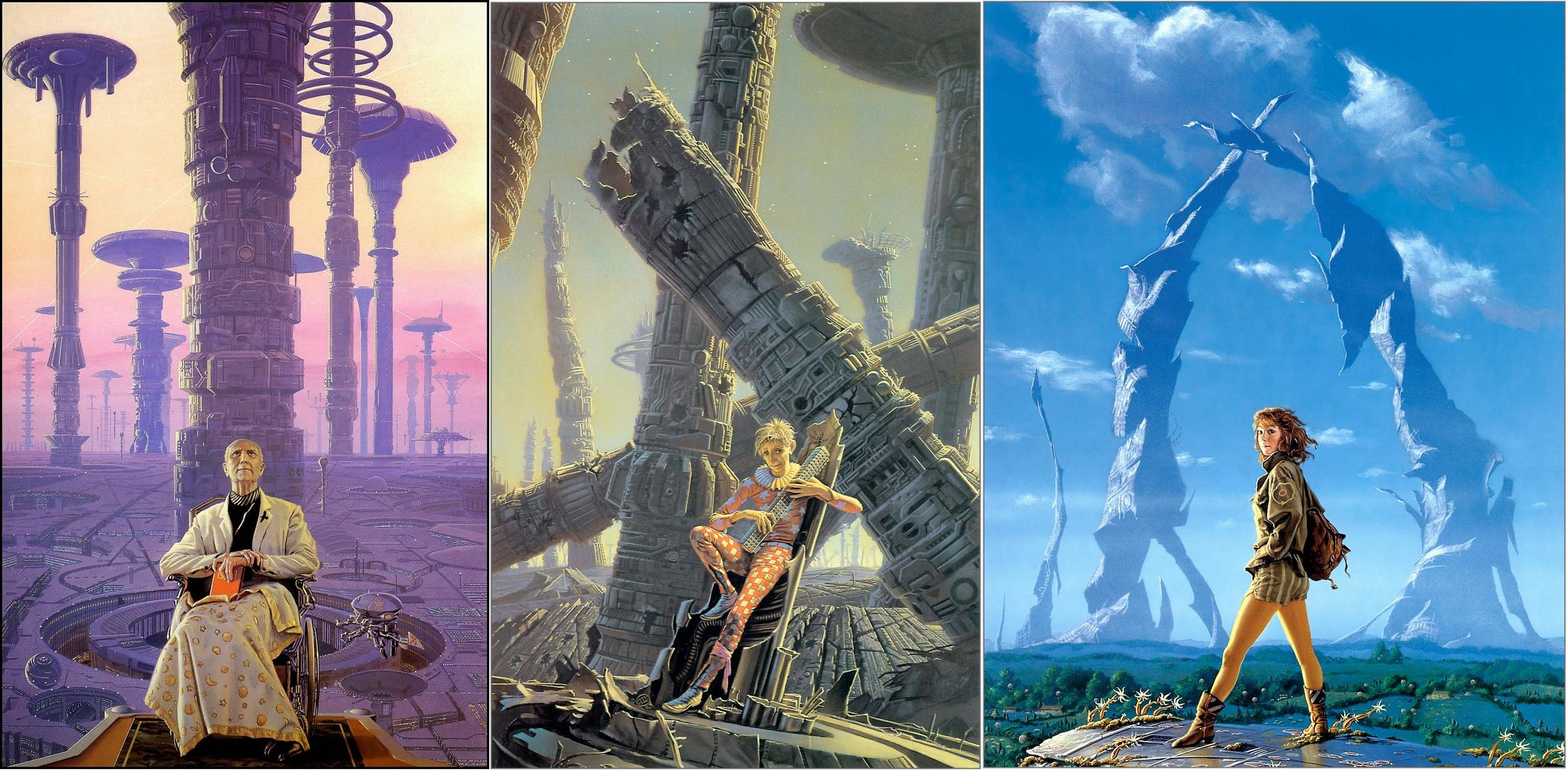 Artwork by  Michael Whelan