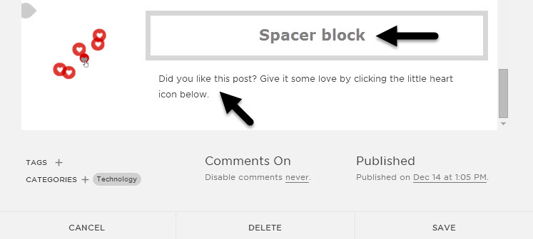 Increase Squarespace Post Liking with an Exploding Heart GIF (Free Tutorial and Download)
