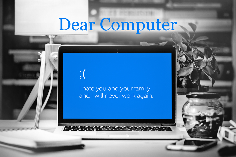 dear computer by hananiah wilson