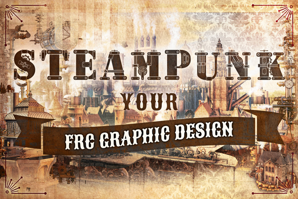 Steampunk Your FRC Graphic Design: Free Style Guide