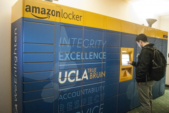 Amazon Lockers will soon be expanding into more California campuses. Image via dailybruin.com (Photo: Heidy Cadena/Daily Bruin)