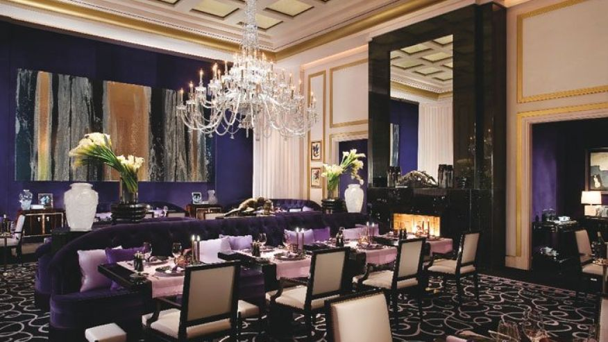 Joël Robuchon in Las Vegas uses high-end décor to add to its luxurious dining experience. Image via foxnews.com (Photo: MGM Resorts)