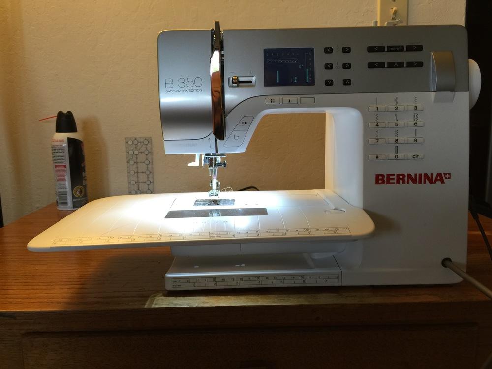 Bernina B350 Patchwork Edition