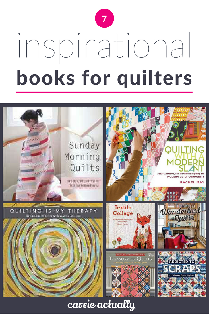 7 inspiration books for quilters