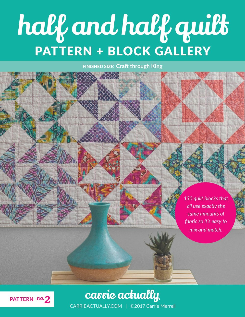 Half And Half Quilt Pattern Block Gallery Carrie