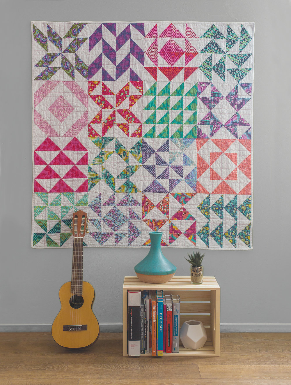 Half and Half Quilt Pattern + Block Gallery