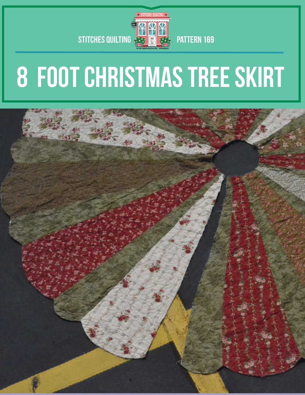 Stitches Quilting - 8' Giant Tree Skirt.png